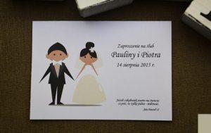 przykładowy model zaproszenia ślubnego