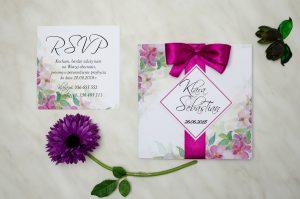 oryginalne zaproszenie ślubne